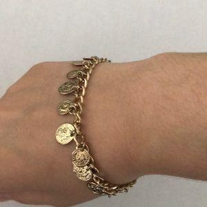 4 for 12$ gold forever 21 bracelet